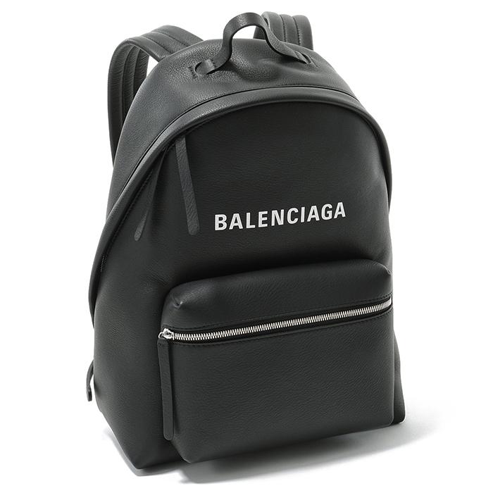 BALENCIAGA バレンシアガ 502847 DLQ4N 1000 レザー バックパック リュック デイパック NOIR/BLANC レディース