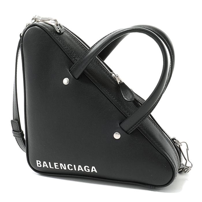 BALENCIAGA バレンシアガ 531048 C8K02 1000 レザー ハンドバッグ ショルダーバッグ NOIR/BLANC レディース