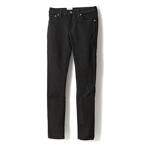 Nudie Jeans ヌーディージーンズ SKINNY LIN 111539 SKINNY LIN ジップフライ スキニージーンズ BLACKBLACK