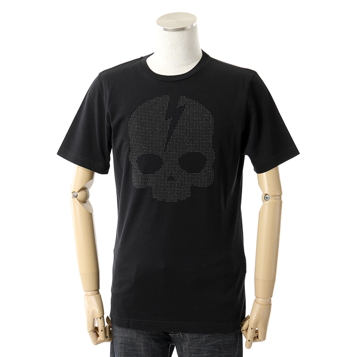 HYDROGEN ハイドロゲン 230122 スタッズ装飾 半袖Tシャツ クルーネック 007
