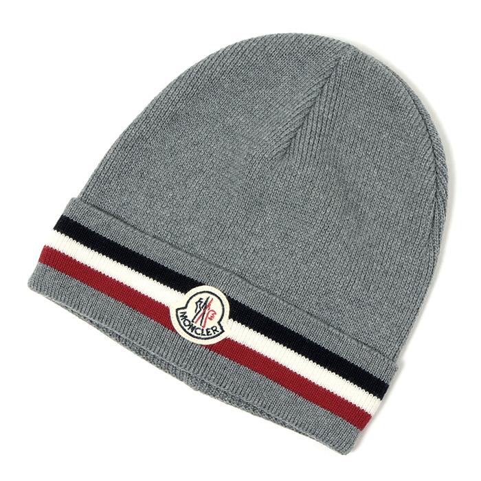 MONCLER モンクレール 32800 2292 ニットキャップ 帽子 930/GREY