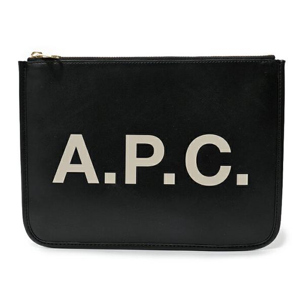 APC A.P.C. アーペーセー PUAAJ F63229 pochette morgane LZZ クラッチバッグ ポーチ NOIR ユニセックス