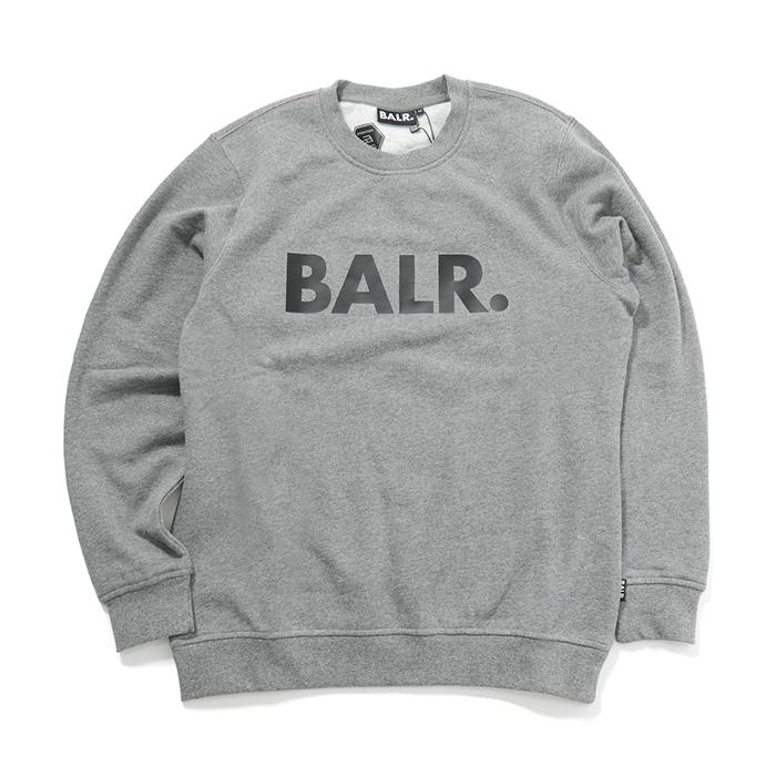 2019最新のスタイル BALR. ボーラー メンズ Brand Crew Neck Sweater BALR. 長袖 Grey クルーネック スウェット Grey メンズ, セットアップ:c690a327 --- konecti.dominiotemporario.com