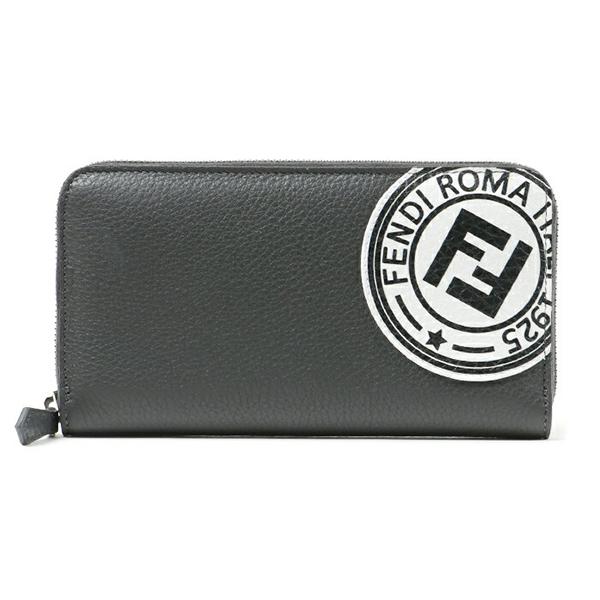 FENDI フェンディ 7M0210 A4NR F0X2Q ラウンドファスナー財布 F0X2Q