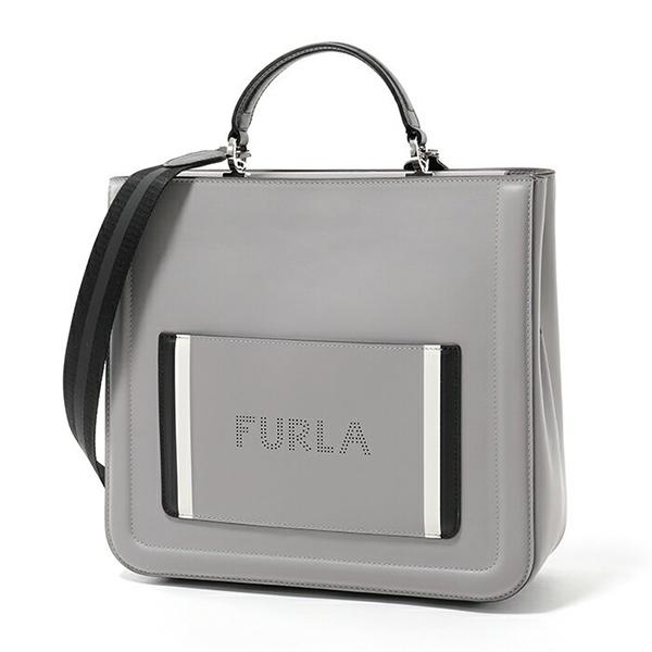 Furla フルラ 985427 BQK7 I78 REALE L TOTE 2way ハンドバッグ ONICE レディース