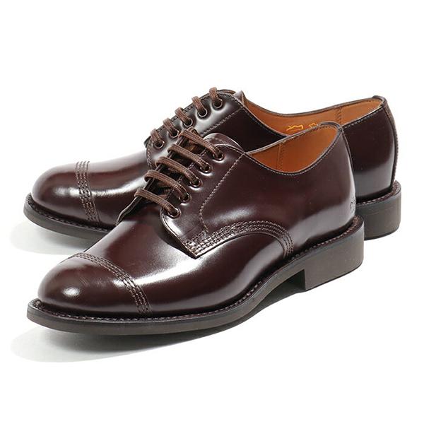 Sanders サンダース 1834R Military Derby Shoe ドレスシューズ 革靴 オックスフォード BURGUNDY レディース