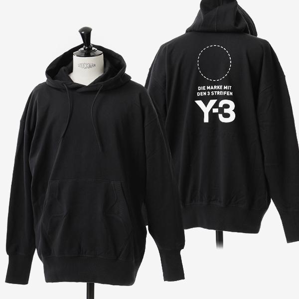 Y-3 ワイスリー adidas アディダス YOHJI YAMAMOTO コラボ DP0459 オーバーサイズ スウェットパーカー BLACK