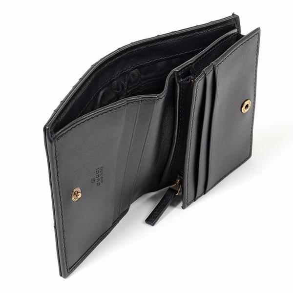 【エントリーでポイント最大9倍!20日21時~23時59まで】GUCCI グッチ 466492 DRW1T GG Marmont 2.0 二つ折りミニ財布 カードケース 1000 レディース