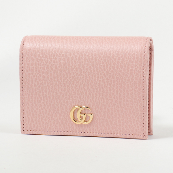 GUCCI グッチ 456126 CAO0G PETITE MARMONT プチマーモント 二つ折りミニ財布 カードケース 5909