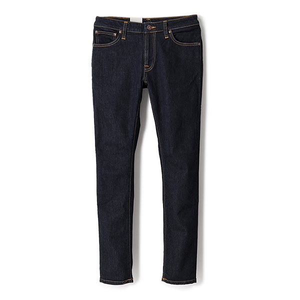 Nudie Jeans ヌーディージーンズ SKINNY LIN 112083 ジップフライ スキニージーンズ 576/DryDeepOrange メンズ