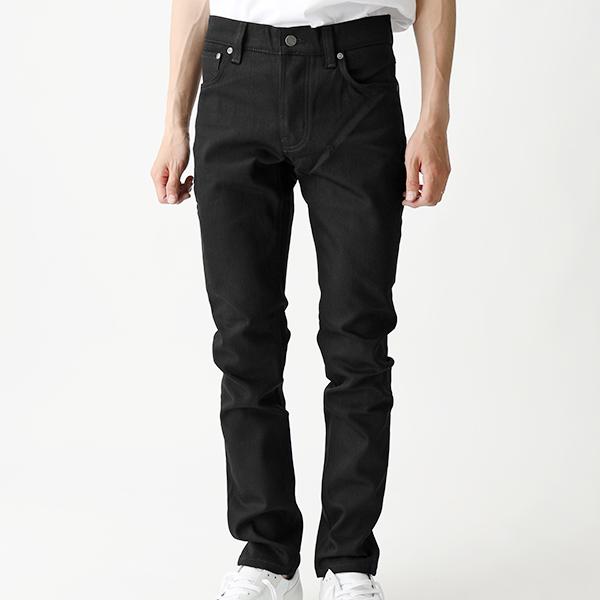 Nudie Jeans ヌーディージーンズ TILTED TOR 112684 ティルテッドトール スリムフィット ストレッチデニム 841/EverBlack メンズ