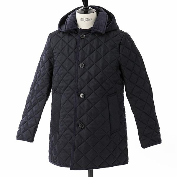 Traditional Weatherwear トラディショナルウェザーウェア DERBY HOOD QUILTED QO0859-QOP7198 ウール キルティング ジャケット フード付き コート 6Q02/KZ03/6Q02-NVNV メンズ