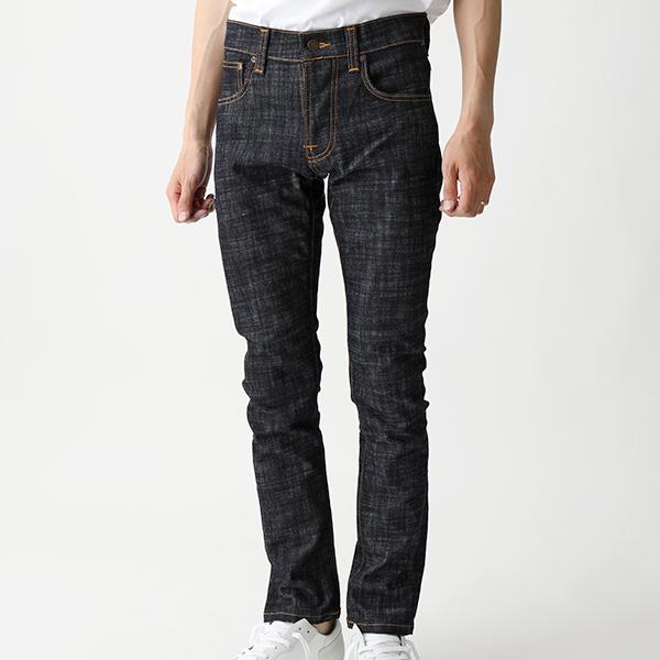 Nudie Jeans ヌーディージーンズ GRIM TIM 112792 ジーンズ スリムストレートフィット ボタンフライ DryCross メンズ