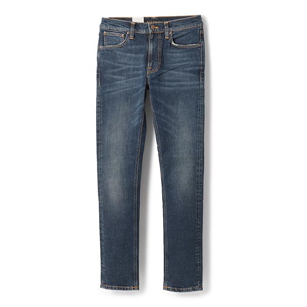 Nudie Jeans ヌーディージーンズ LEAN DEAN 112788 リーンディーン スリムテーパード ジーンズ デニム DarkBlues メンズ