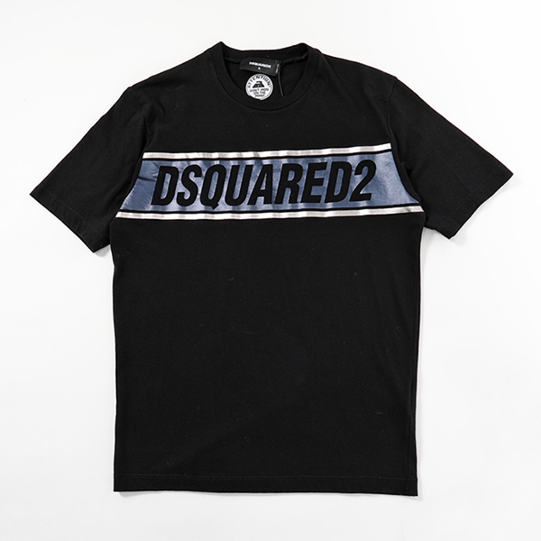 DSQUARED2 ディースクエアード GD0002 S23298 THE BEST SHOPS 半袖 Tシャツ クルーネック 900 メンズ
