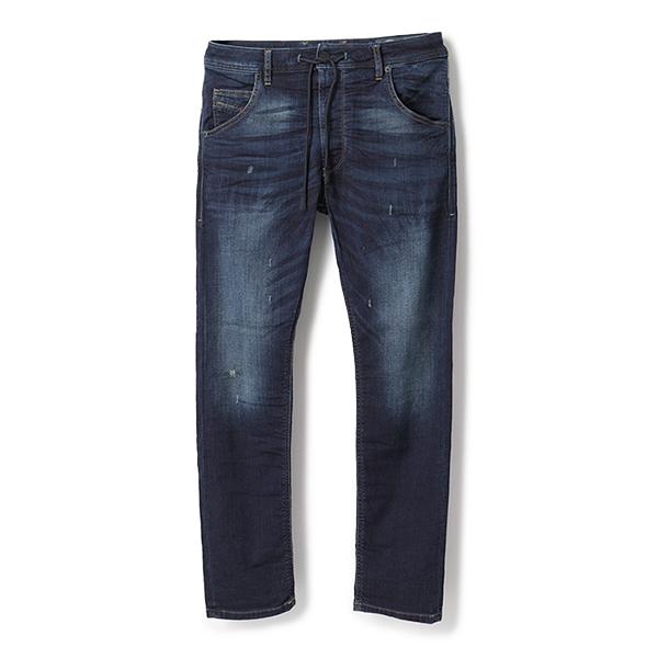 DIESEL ディーゼル SU3F 69DQ KROOLEY CB-NE Sweat jeans JOGGJEANS ジョグジーンズ スウェットデニム ストレッチパンツ 01 メンズ