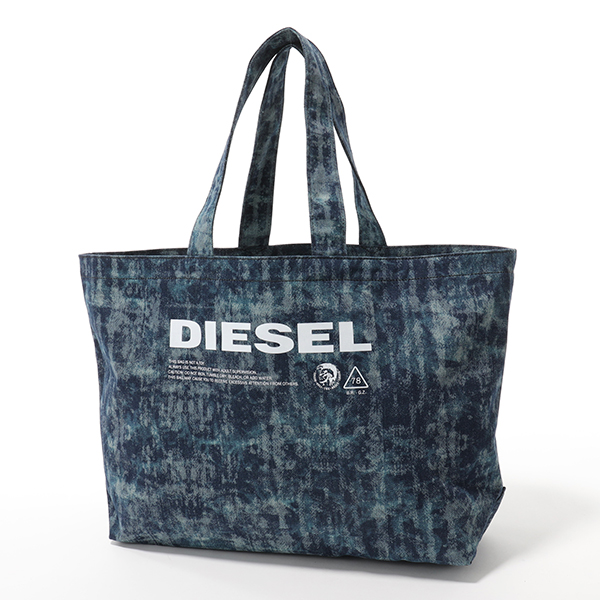 DIESEL ディーゼル X05897 P2088 D-THISBAG SHOPPER L デニム トートバッグ ショッピングバッグ T6331 ユニセックス メンズ