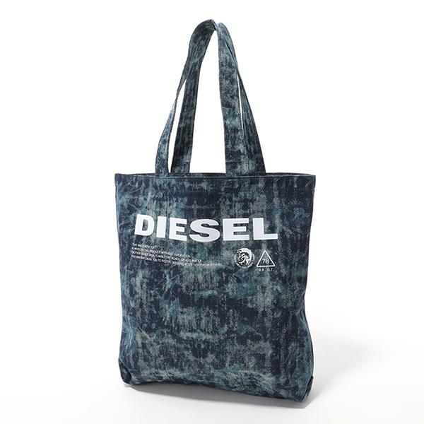 DIESEL ディーゼル X05879 P2088 F-THISBAG SHOPPER NS デニム トートバッグ ショッピングバッグ T6331 ユニセックス メンズ