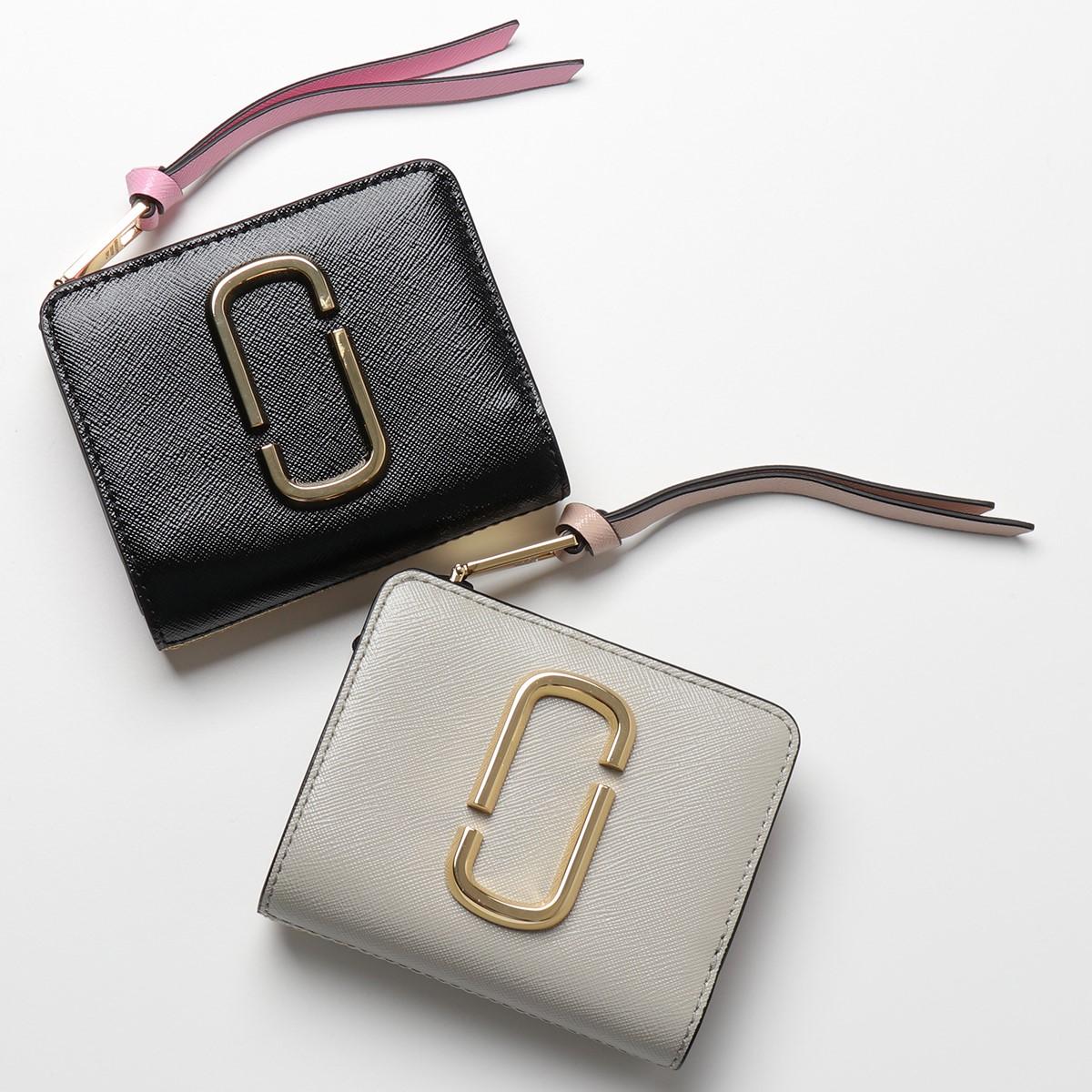 MARC JACOBS マークジェイコブス M0014282 レザー 二つ折り財布 ミディアム財布 スモール カラー4色 レディース