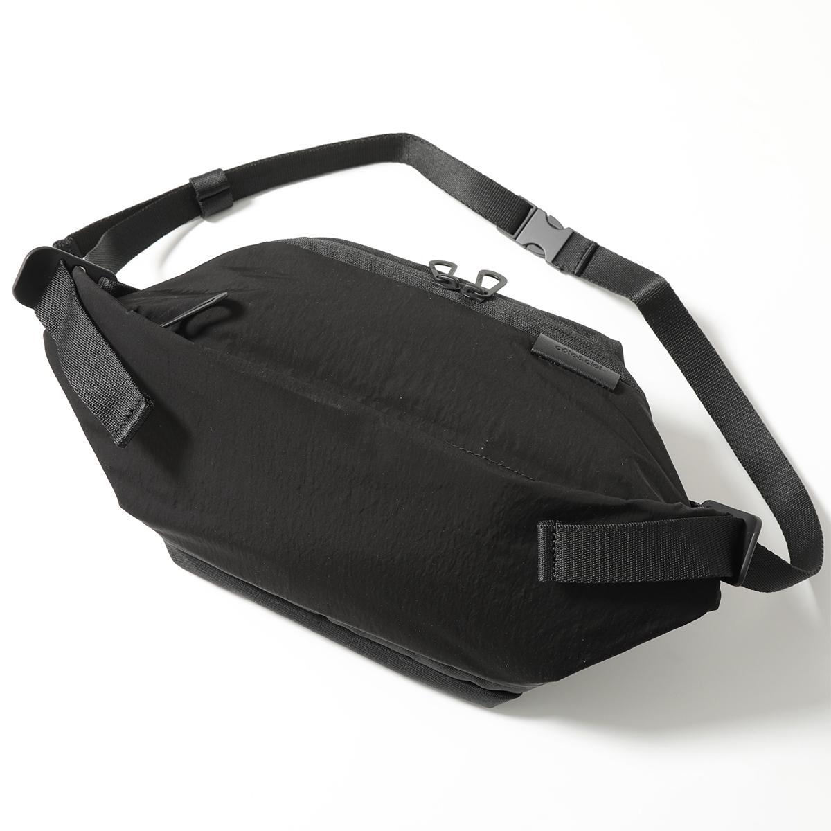 【エントリーでポイント最大13倍!10日21時~23時59まで】Cote&Ciel コートエシエル 28719 Isarau Small Memory Tech ボディバッグ ウエストポーチ BLACK ユニセックス 鞄 メンズ レディース