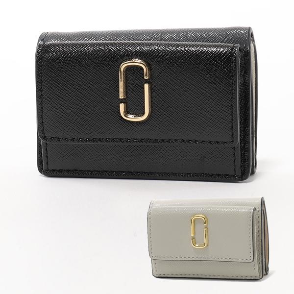 MARC JACOBS マークジェイコブス M0014492 レザー 三つ折り財布 ミニ財布 豆財布 カラー2色 レディース