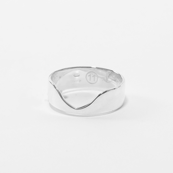 MAISON MARGIELA メゾンマルジェラ 11 S50UQ0022 S11770 RING シルバー リング 指輪 アクセサリー 951 メンズ