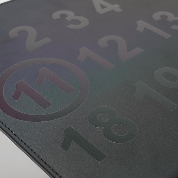 MAISON MARGIELA メゾンマルジェラ 11 S55UI0192 PS764 リフレクター レザー クラッチバッグ セカンドバッグ フラットポーチ T8013 ユニセックス メンズ