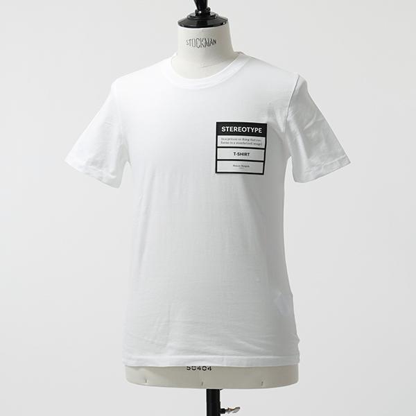 MAISON MARGIELA メゾンマルジェラ 10 S50GC0538 S22533 STEREOTYPE 半袖 Tシャツ カットソー クルーネック 丸首 100 メンズ