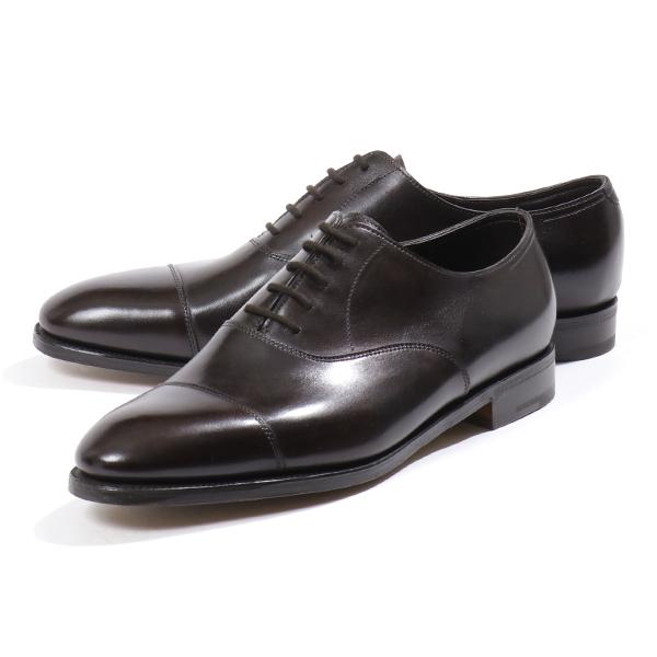JOHN LOBB ジョンロブ CITY 2 MISTY CALF 008151L LAST 7000 E シティ2 レザーシューズ ドレスシューズ 革靴 ビジネス DARK-BROWN メンズ