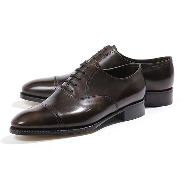JOHN LOBB ジョンロブ PHILIP 2 MUSEUM CALF 506180L 7000 E フィリップ2 レザーシューズ オックスフォード 革靴 ビジネス DARK-BROWN メンズ