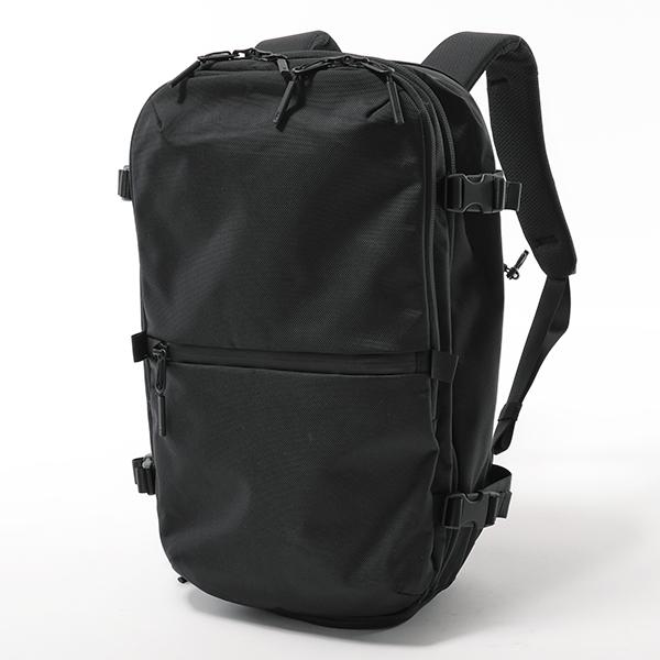 Aer エアー Travel Pack2 21007 33L リュック バックパック ナイロン トラベルバッグ Travel Collection 15.6インチ対応 Black メンズ