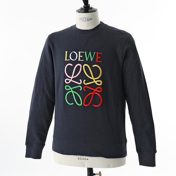 LOEWE ロエベ H6199541CR 長袖 スウェット トレーナー アナグラム刺繍 5387 メンズ