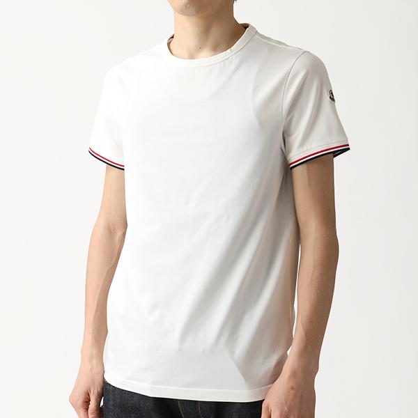 MONCLER モンクレール 8019900 87296 Slim Fit クルーネック 半袖 Tシャツ カットソー スリムフィット 004 メンズ