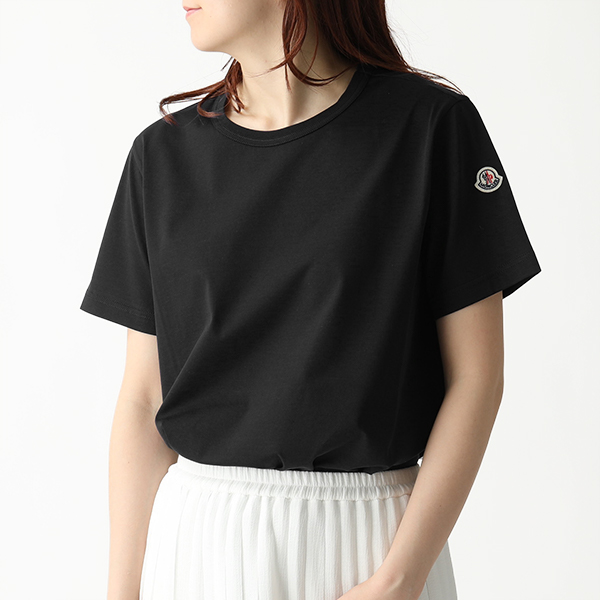 MONCLER モンクレール 8083400 8390X 半袖 Tシャツ カットソー クルーネック 999 レディース
