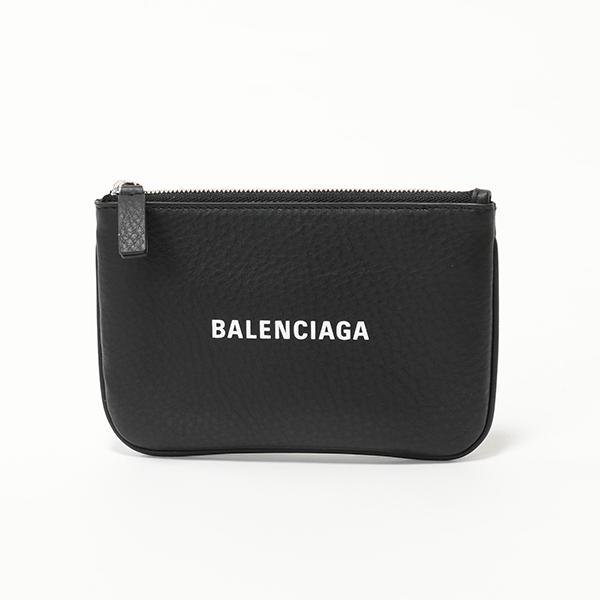 BALENCIAGA バレンシアガ 551995 DLQ4N EVERYDAY POUCH XS ミニポーチ コインケース 1000/NOIR ユニセックス