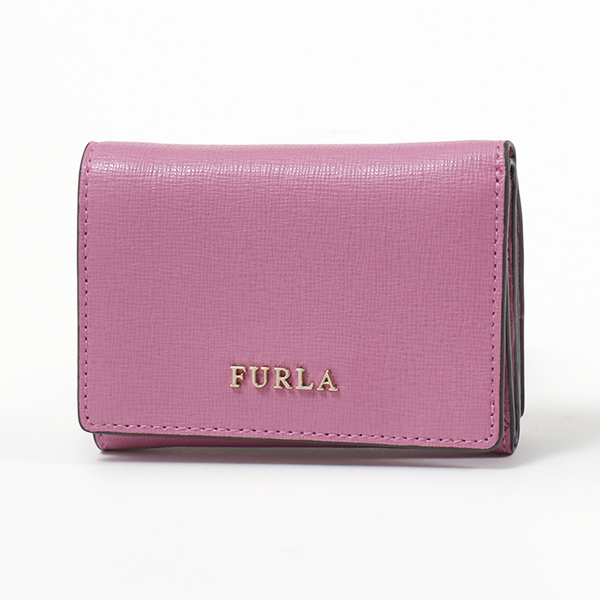 Furla フルラ 992622 PR83 B30 BABYLON S TRIFOLD レザー 三つ折り財布 ミニ財布 豆財布 AZALEAf レディース