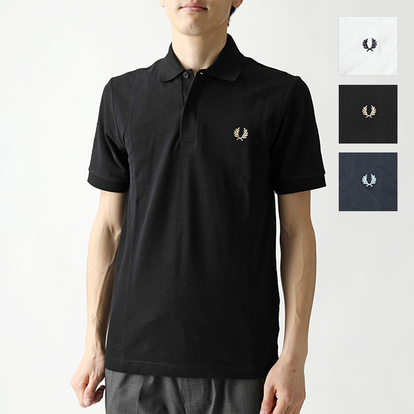 FRED PERRY フレッドペリー M3 THE ORIGINAL FRED PERRY SHIRT 鹿の子 半袖 ポロシャツ カラー3色 メンズ