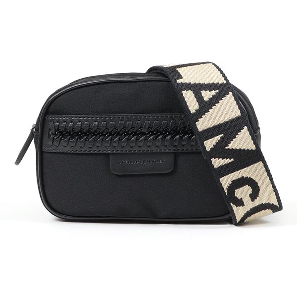 STELLA McCARTNEY ステラマッカートニー 557857 W8091 1063 ナイロン ボディバッグ ウエストポーチ ベルトバッグ ジャガードストラップ 鞄 レディース