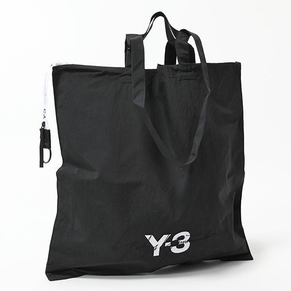 Y-3 ワイスリー adidas アディダス YOHJI YAMAMOTO DY0524 コラボ トートバッグ ショッピングバッグ ナイロン BLACK メンズ