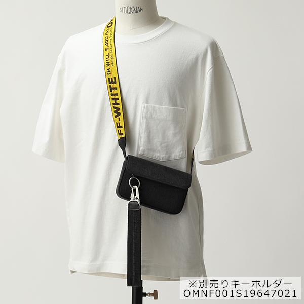 OFF-WHITE オフホワイト VIRGIL ABLOH OMNA032S19812001 8600 DENIM MEN CROSSBODY ボディバッグ ショルダーバッグ ユニセックス