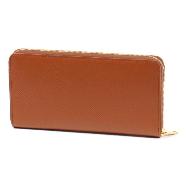 CELINE セリーヌ 10B553BEL.04LU Large Zipped Wallet レザー ラウンドファスナー長財布 TAN レディース