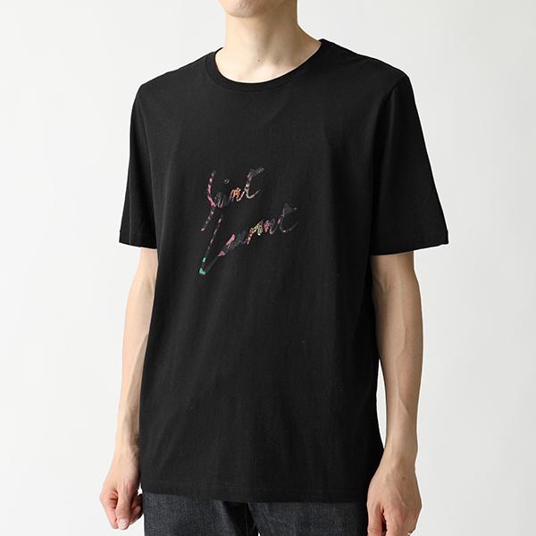 SAINT LAURENT サンローランパリ 553378 YBCL2 1068 クルーネック 半袖 Tシャツ カットソー メンズ