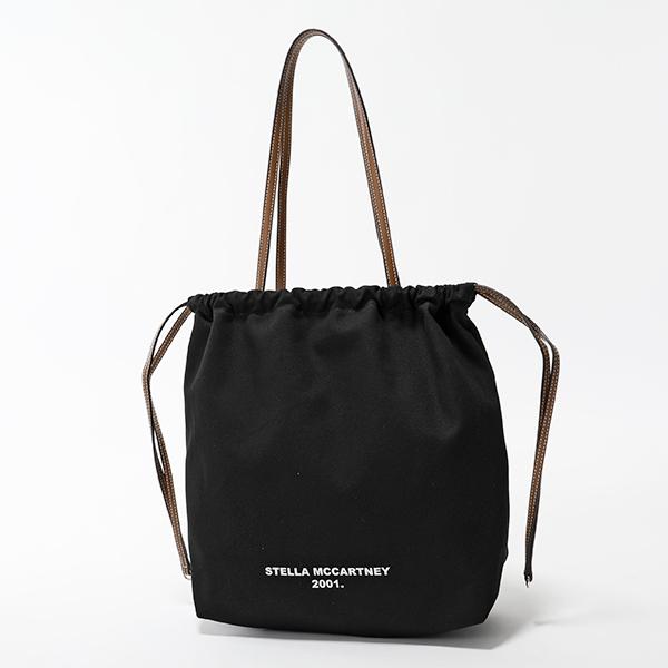 STELLA McCARTNEY ステラマッカートニー 572766 W8527 1003 PARIS シティ 巾着バッグ ショルダー トートバッグ レディース