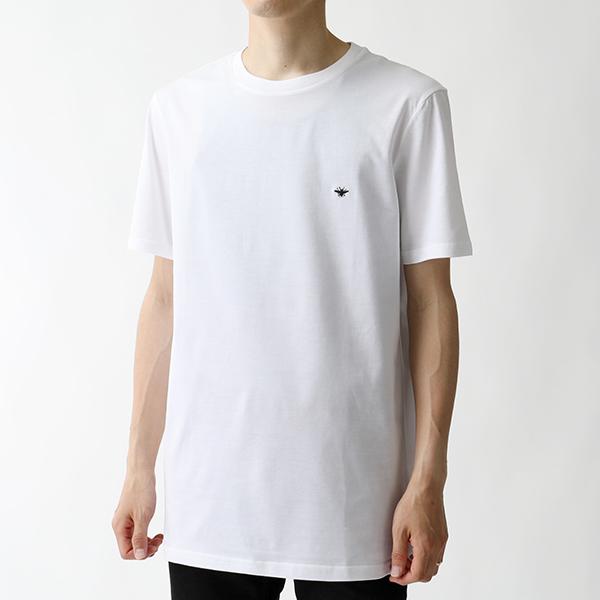 Dior ディオール 733J603B0446 089 クルーネック 半袖 Tシャツ カットソー WHITE メンズ