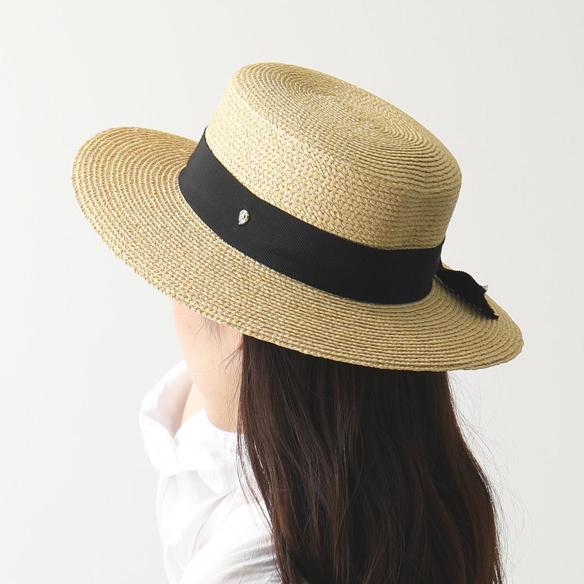 【エントリーでポイント最大13倍!10日21時~23時59まで】HELEN KAMINSKI ヘレンカミンスキー Circe ラフィア ハット カンカン帽 帽子 UPF50+ Natural/Black レディース