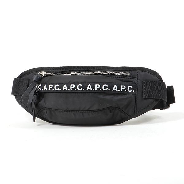 APC A.P.C. アーペーセー PAACL H62097 banane luclle LZZ ナイロン ボディバッグ ベルトバッグ ウエストポーチ NOIR ユニセックス
