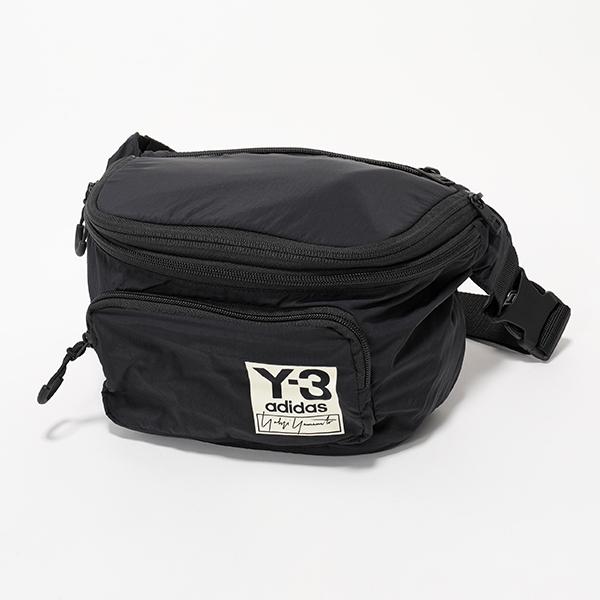 Y-3 ワイスリー adidas アディダス YOHJI YAMAMOTO FH9255 PACKABLE BP 2way ボディバッグ リュック パッカブル仕様 BLACK メンズ