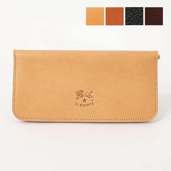 ILBISONTE イルビゾンテ C0938 P VACCHETTA レザー 二つ折り長財布 カラー4色 メンズ