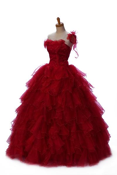 【送料無料】SDL1_DR カラーウェディングドレス カラーウエディングドレス ダークレッド マタニティー対応 ***** ウェディングドレス ウエディングドレス ウェディングドレス ウエディングドレス ウェディングドレス