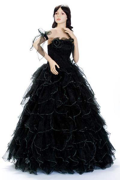 【送料無料】カラーウェディングドレス SDL1BK ブラック***** ウェディングドレス ウェディングドレス ウェディングドレス ウェディングドレス ウェディングドレス ウェディングドレス
